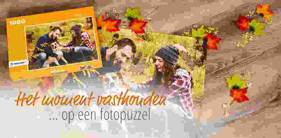 Het moment vasthouden op een fotopuzzel met fotopuzzel.nl
