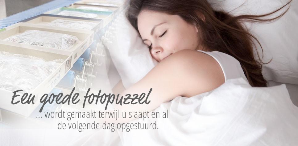 Fotopuzzel: snelste levertijd