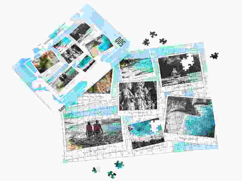 Puzzeldoos voor uw fotopuzzel 500 stukjes vakantie
