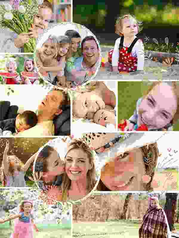 Fotopuzzel met een afbeeldingen collage 12 foto's