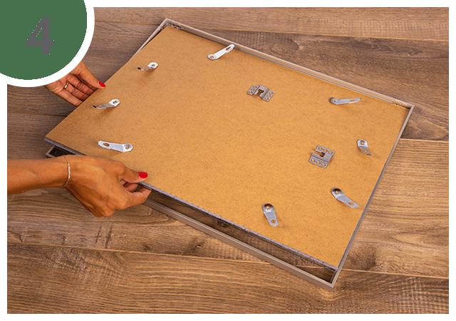 Instructies voor puzzellijst 48 tot 2000 stukjes Stap 4