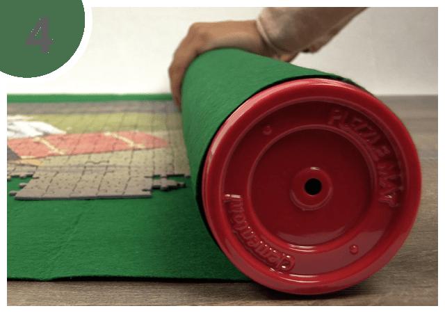 Puzzel mat gebruiksaanwijzing 4