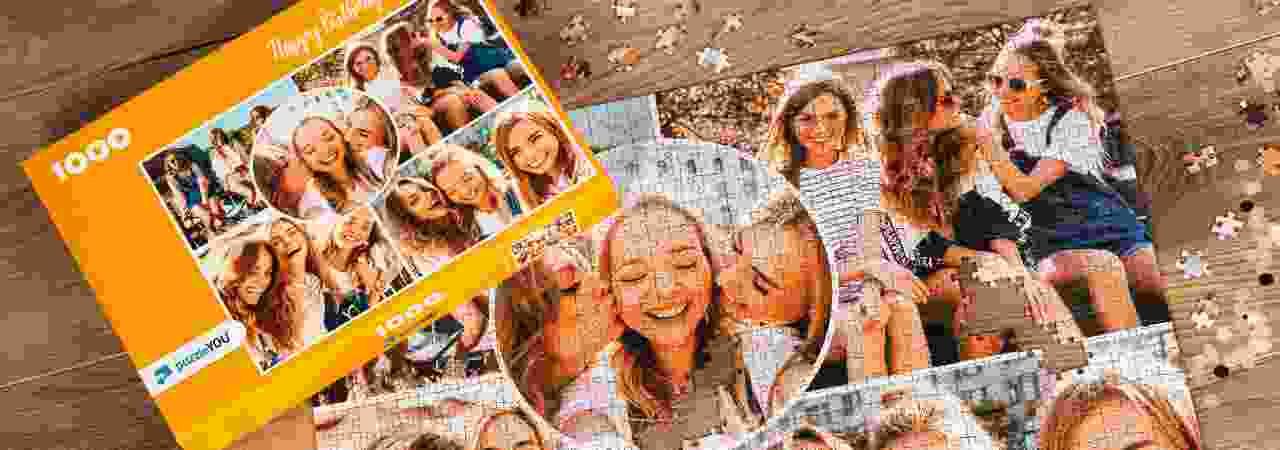 Fotopuzzel collage Verjaardag