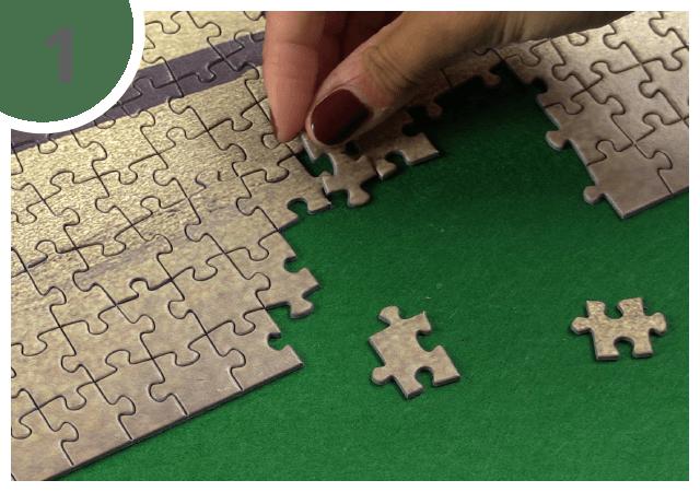 Puzzel mat gebruiksaanwijzing 1