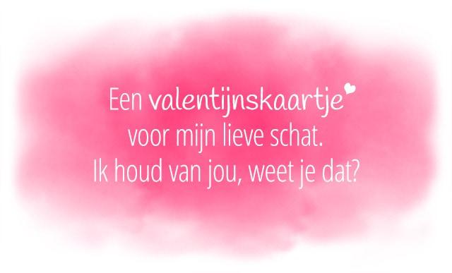 Valentijnsdag gezegde