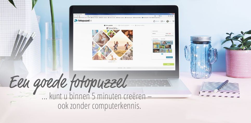 Fotopuzzel: ook zonder computerkennis