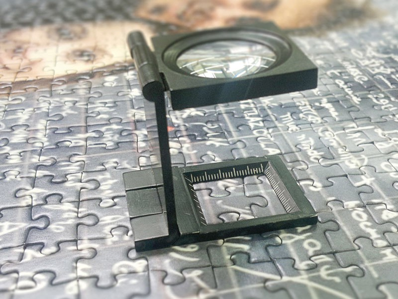 Fotopuzzel in digitaal drukproces