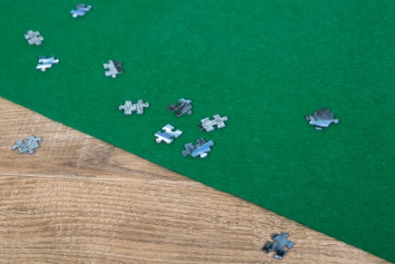 Puzzel mat voor 500, 1000, 1500 en 2000 stukjes