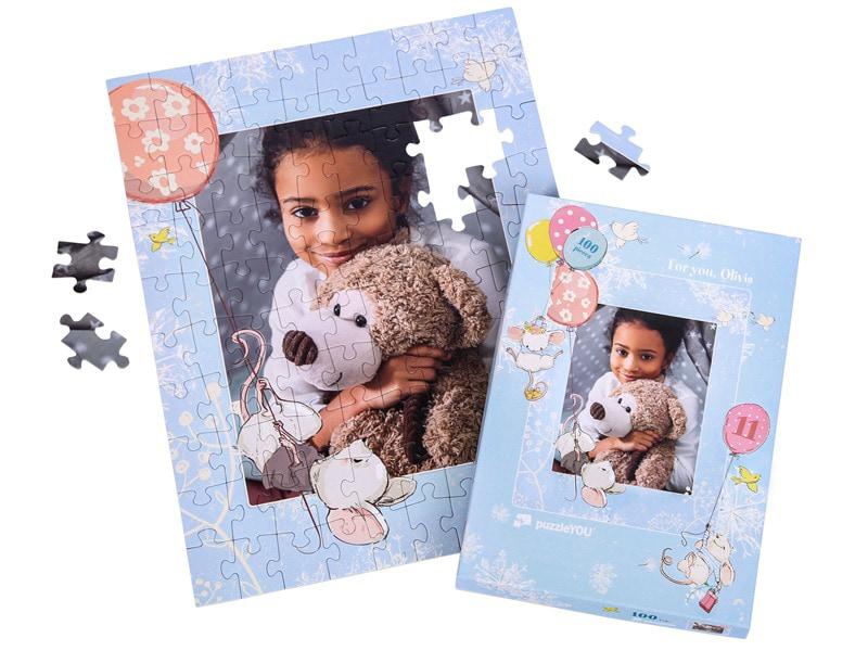 Puzzeldoos voor uw fotopuzzel 100 stukjes