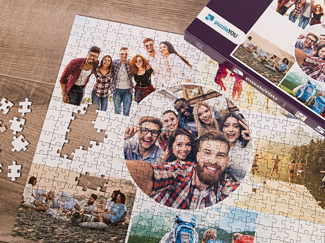 Fotopuzzel collage