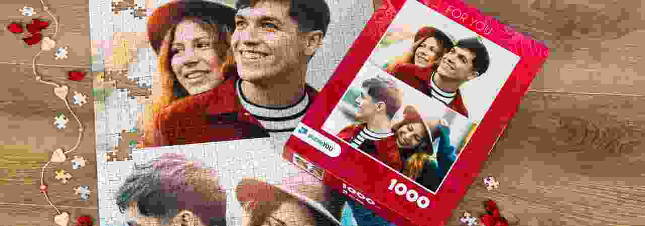 Fotopuzzel collage Liefde