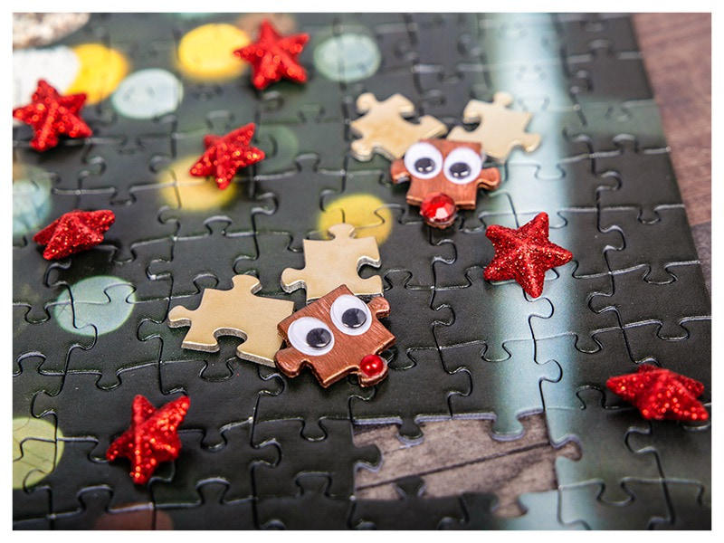 Puzzel rendier