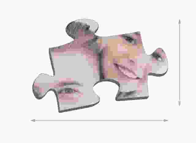 Maat van de puzzelstukjes 200 stukjes
