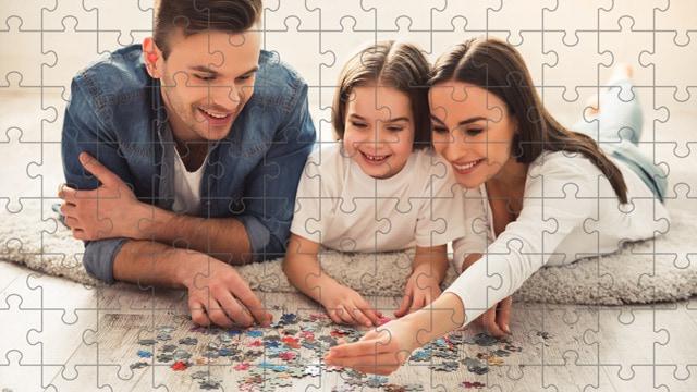 Puzzel gegarandeerd tijd samen