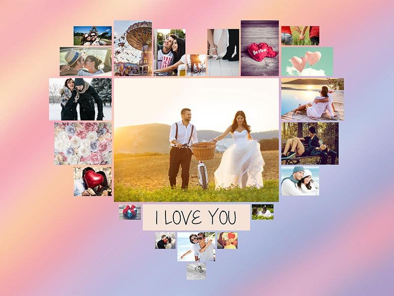 Fotopuzzel met een thema's collage 22 foto's