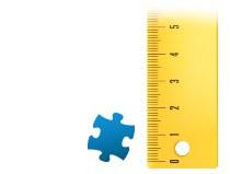 Verhouding puzzelstukje fotopuzzle 2000 stukjes