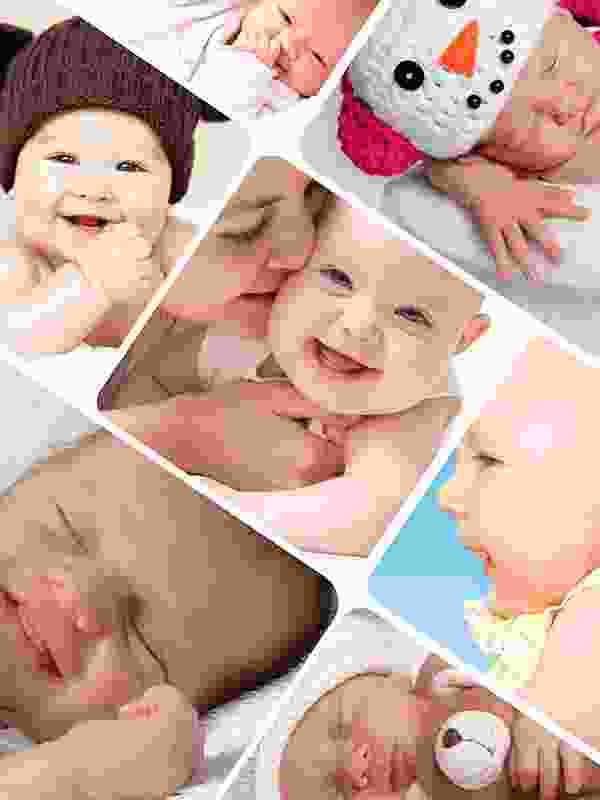 Fotopuzzel met een artistieke collage 7 foto's