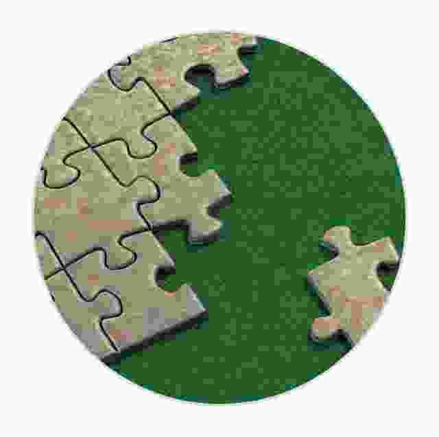 Puzzel mat